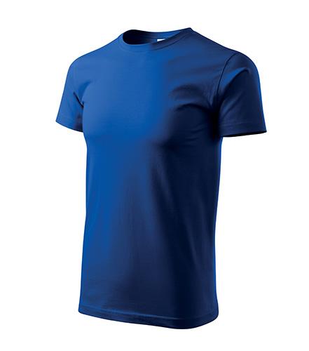 tričko basic modré