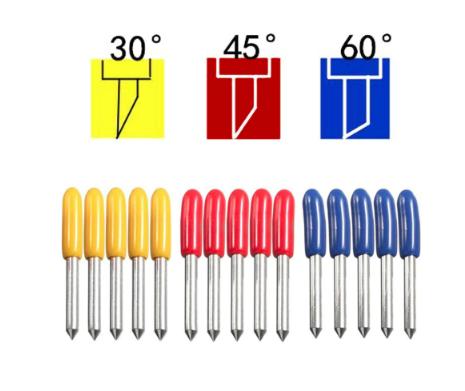 druhy plotrových nožov ContentPress